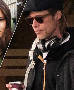 Brad Pitt ma nową dziewczynę i spory problem. Boi się nie bez powodu