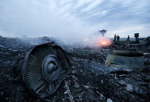 Szczątki malezyjskiego Boeinga 777