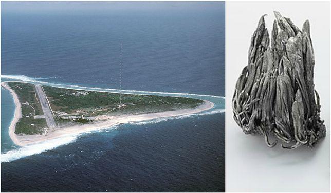W okolicy tej wyspy znajdują się ogromne złoża