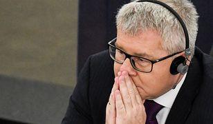 Ryszard Czarnecki został już odwołany z funkcji wiceszefa PE, teraz ma zakaz wyjazdów na misje obserwacyjne