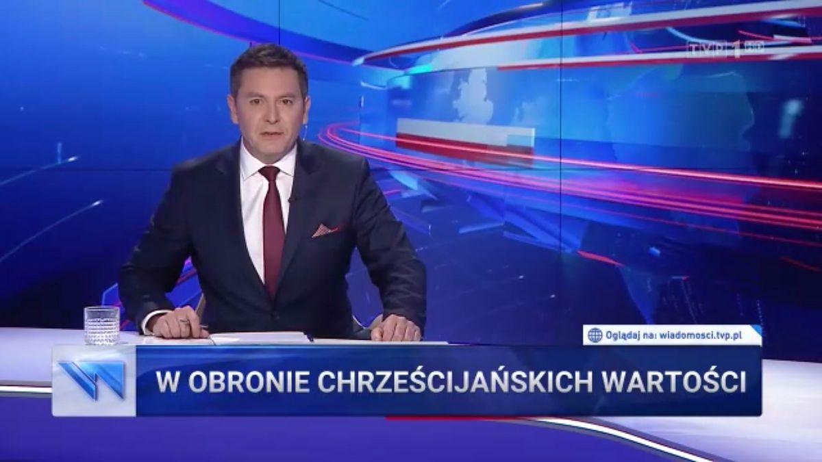 """Do """"Wiadomości"""" TVP zawitał XXI w. Niestety tylko, jeżeli chodzi o oprawę wizualną"""