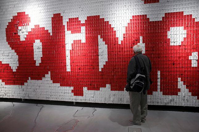Wystawa stała w ECS prezentuje współczesną historię Polski i powstanie ruchu solidarnościowego