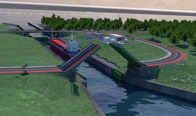 Mostem zwodzonym do Krynicy Morskiej