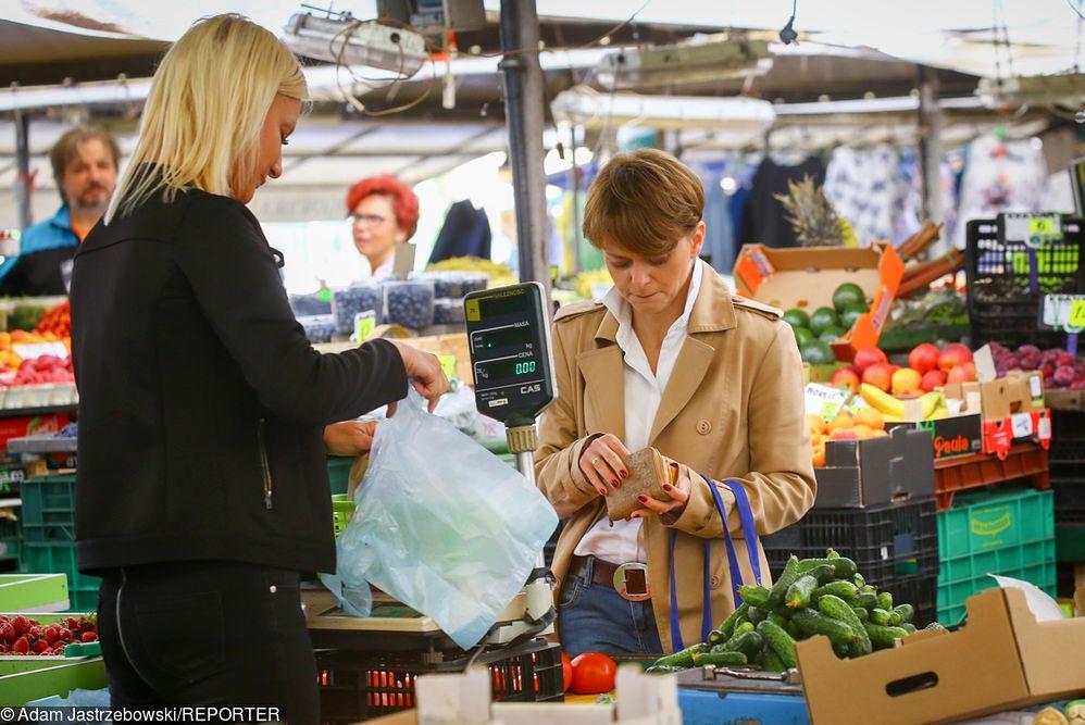 Ceny warzyw w rok wzrosły o 35 procent. Żywność winduje inflację