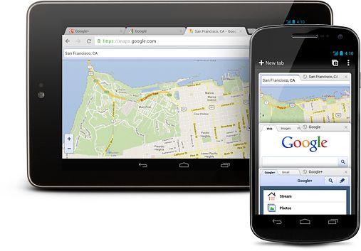 Pierwsze stabilne wydanie Chrome dla Androida już jest