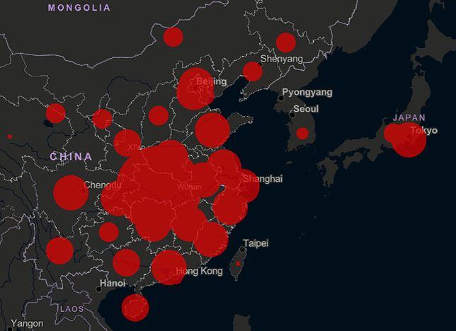 Koronawirus. Najnowsze dane na temat epidemii. Zarażonych jest już ponad 71 tysięcy osób