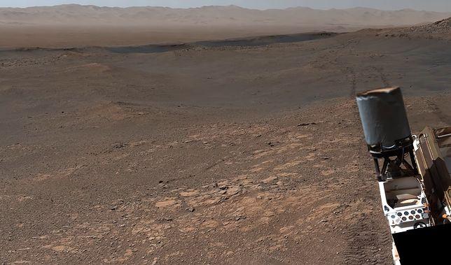Niezwykła panorama Marsa zarejestrowana przez Curiosity