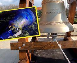 Antyaborcyjny dzwon rozbrzmiał w Szczecinie. Dzień później wyciągano go z rowu