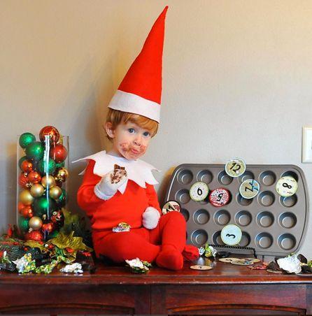 Mały elf zjadł wszystkie ciasteczka