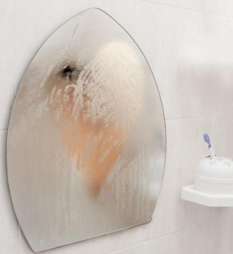 Sposoby na zaparowane lustro w łazience [123rf.com]