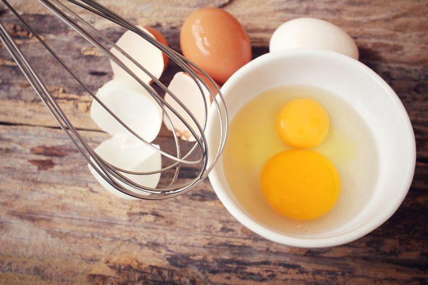Surowe jaja