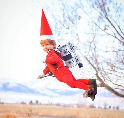Mały elf leci do Jacka Frosta