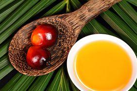 Produkty, w których obecny jest utwardzony olej palmowy