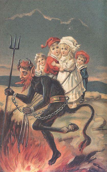 W Czechach dzieci muszą zaśpiewać piosenkę dla Diabła