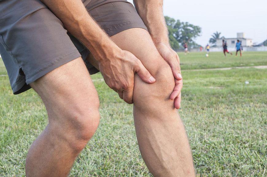 Wady gry w piłkę nożną - uszkodzenia skórne i stłuczenia