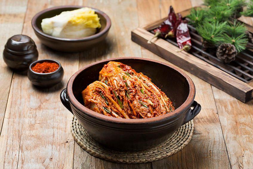 Przygotowanie kimchi
