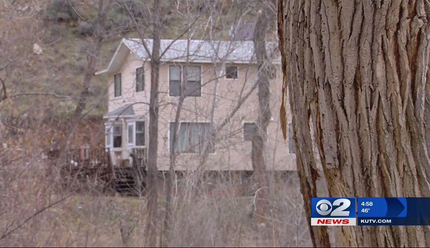 Dom, w którym przetrzymywany był chłopiec
