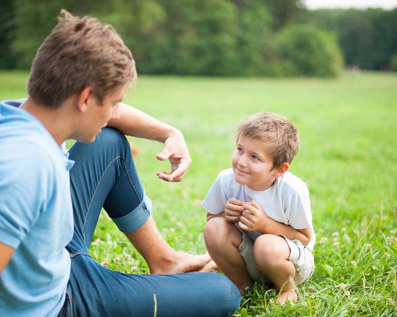 Dialog z rodzicem