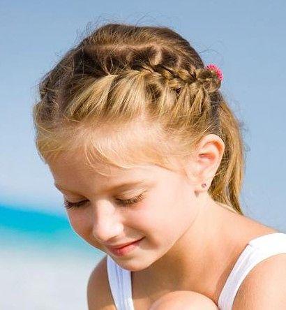 Fryzury dla dzieci wymagają nie tylko dodatków, ale też prawidłowej pielęgnacji
