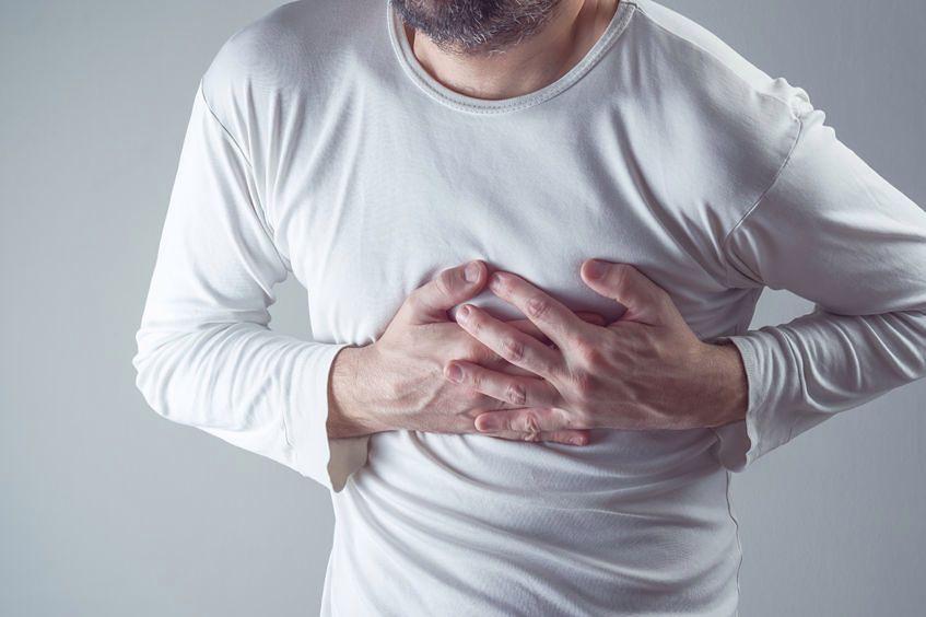Ból w klatce piersiowej to objaw wielu chorób