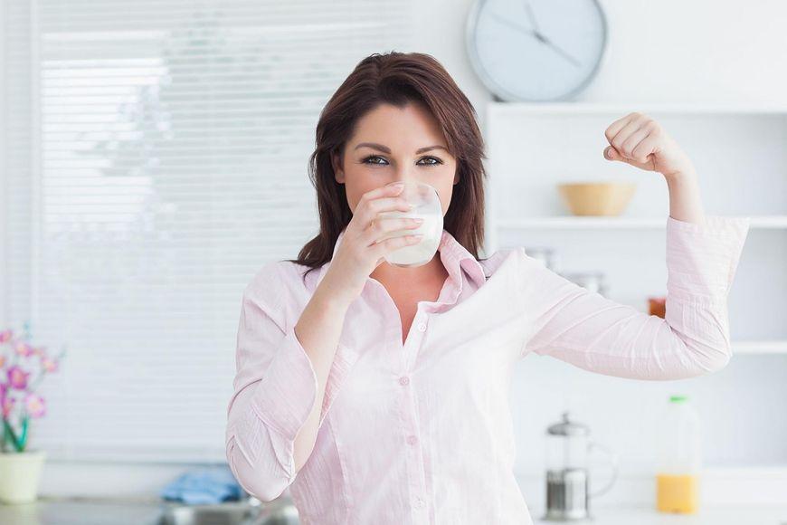 Mleko jest bardzo ważne w budowie kości