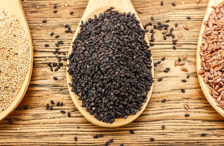 Czarny sezam ma wiele właściwości prozdrowotnych