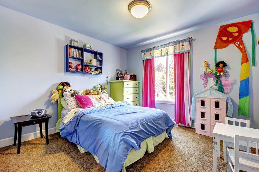 Kolorowy pokój dla dziewczynki