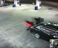 Zobacz nagranie ucieczki porwanej kobiety. Wyskoczyła z auta