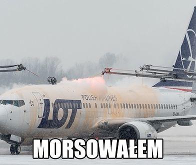 Morsujący samolot. PLL LOT dołącza do internetowego trendu