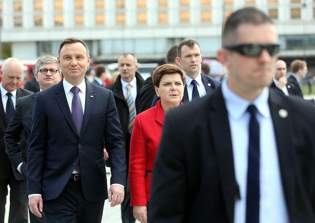 Spotkanie prezydenta z premier i ministrami w BBN