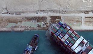 Kanał Sueski odblokowany. Gigantyczny kontenerowiec może odpłynąć