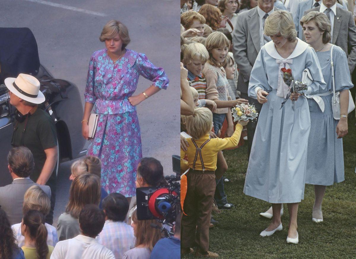 """""""The Crown"""" Netfliksa: Emma Corrin na planie to istna księżna Diana!"""