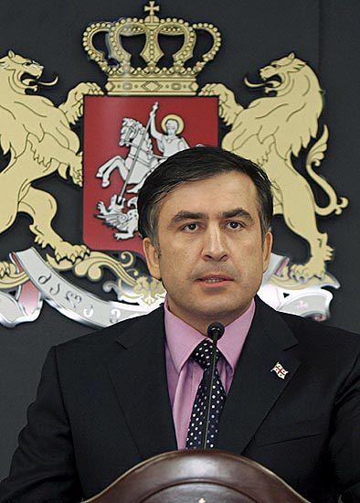Saakaszwili dziękuje i prosi Kaczyńskiego o poparcie