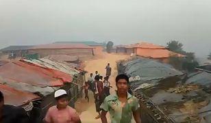 Obóz dla uchodźców zdemolowany. Nie żyje dorosły i dziecko
