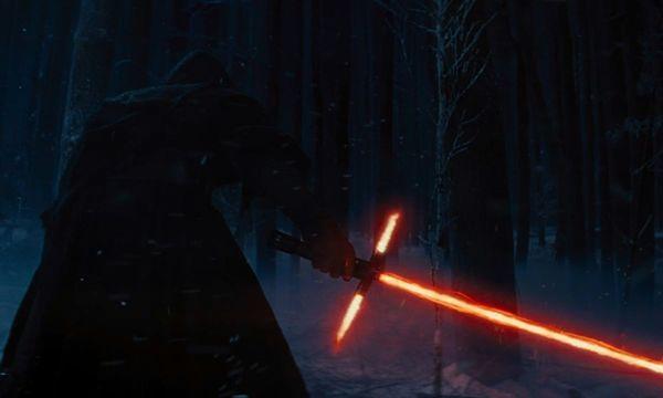 kadr z filmu ''Gwiezdne wojny. Przebudzenie Mocy''