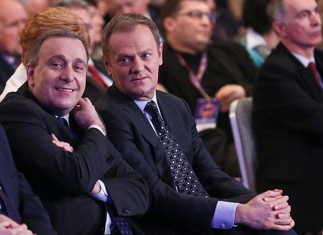 Grzegorz Schetyna i Donald Tusk, 2013 r.