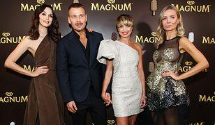 Wolański przygotował trzy kreacje inspirowane smakami lodów Magnum