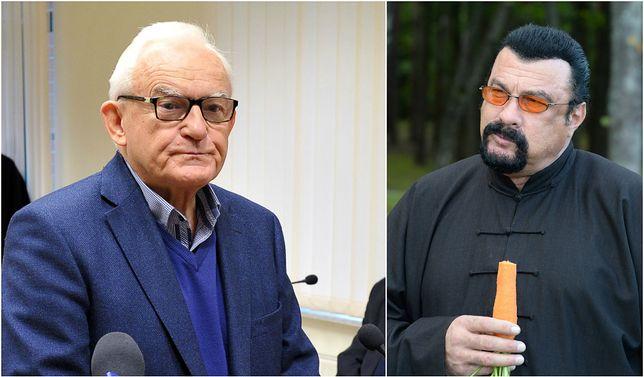 Leszek Miller broni Stevena Seagala i obraża władze Ukrainy