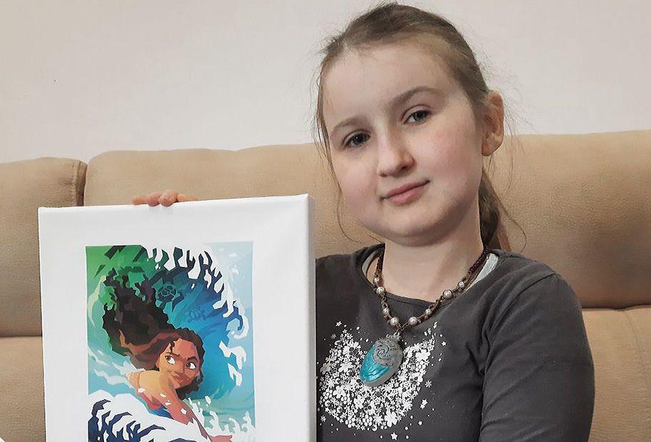 Natalia Przedborska z dedykacją od Disneya