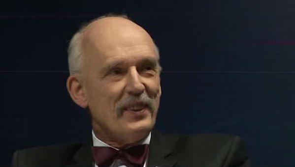 Janusz Korwin-Mikke dla WP.PL: Zachód chce wywołać wojnę z Rosją, USA użyją broni atomowej