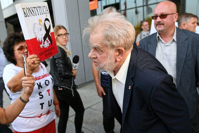 """Andrzej Gwiazda do działaczki KOD: """"Ile bierzesz za numer?"""""""