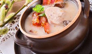 Kaloryczne zupy i nie tylko
