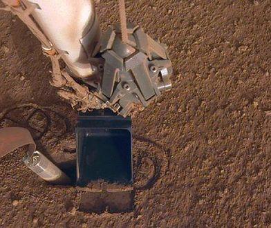 Kret na Marsie ma kolejny problem