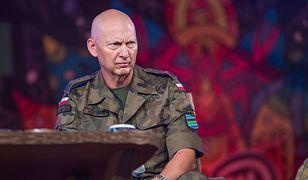 Generał Mirosław Różański podczas spotkania z młodzieżą w Kostrzynie