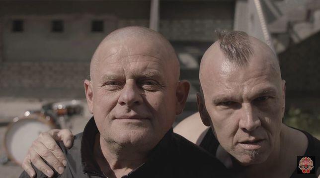 Kazik Staszewski i Wojciech Jabłoński, gitarzysta zespołu Kult