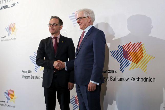 Heiko Maas i Jacek Czaputowicz przeprowadzili rozmowy dwustronne. Ale nie poruszali tematu reparacji