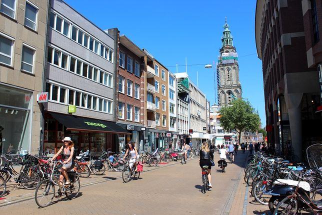 Groningen - światowa stolica rowerów