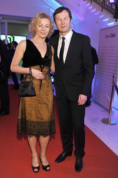 Piotr Cyrwus i Maja Barełkowska