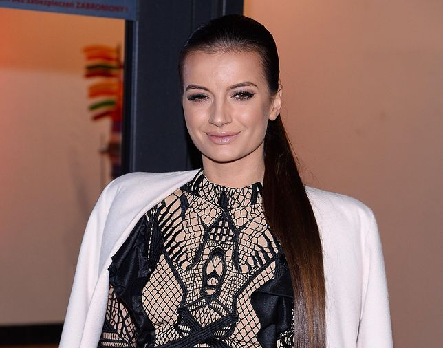 Natalia Janoszek w Cannes. Gwiazda postawiła na czerwień