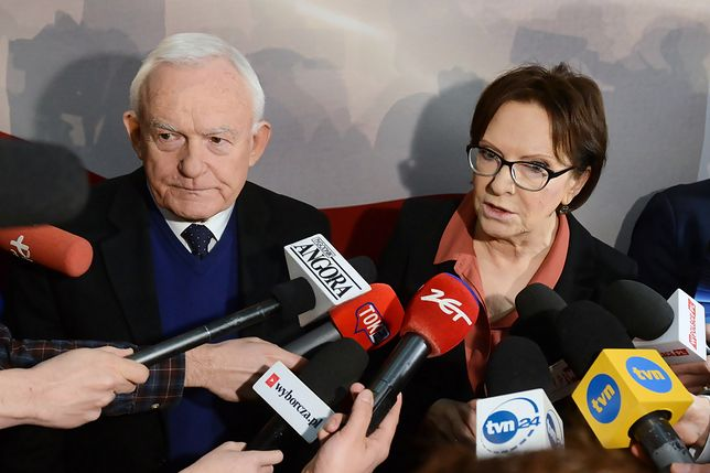 Leszek Miller, Ewa Kopacz